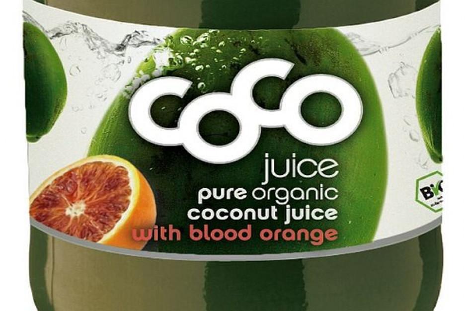 Pomarańczowy smak wody kokosowej