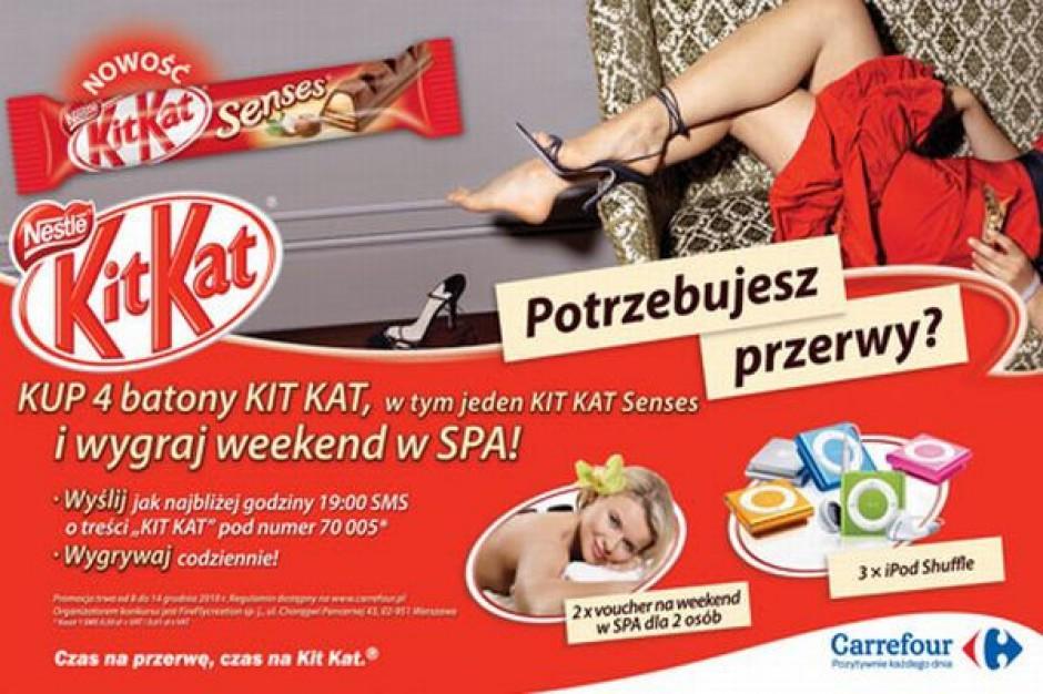 Weekend w SPA nagrodą w promocji Kit Kat