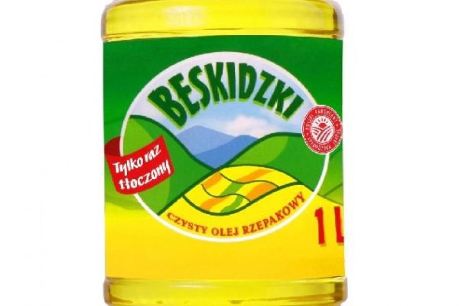 Olej Beskidzki w nowych opakowaniach