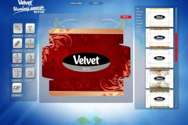 Chusteczki Velvet promują się konkursem