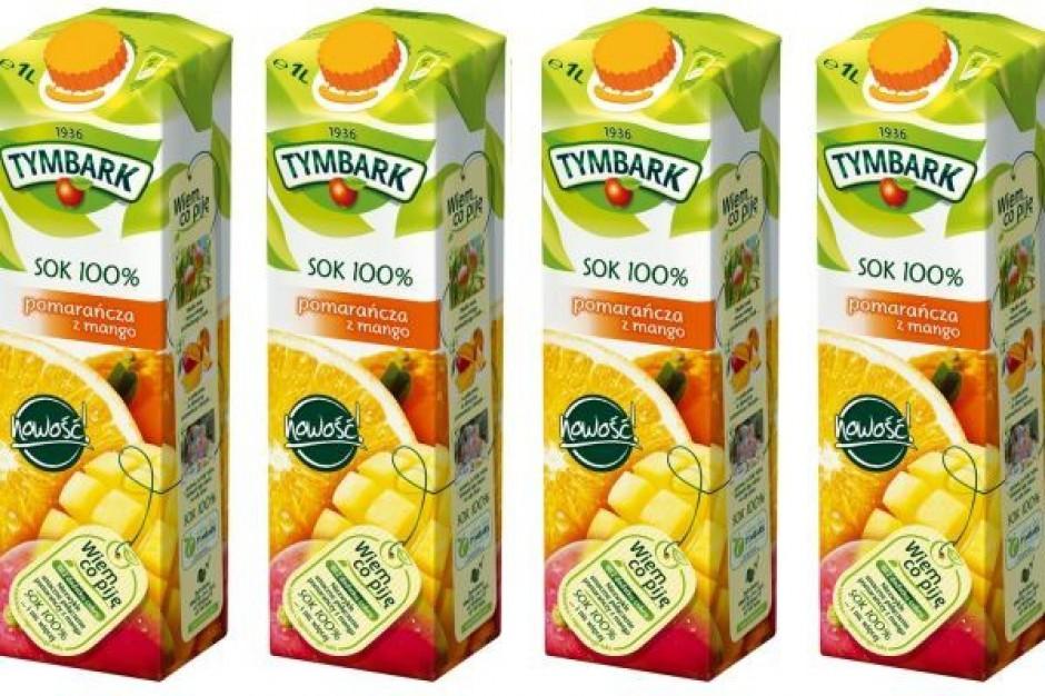 Pomarańcza z mango od Tymbarku