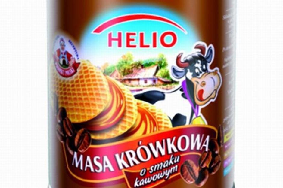 Kawowy smak masy Helio