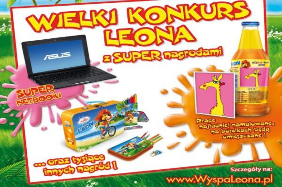 Promocja konsumencka soków Leon