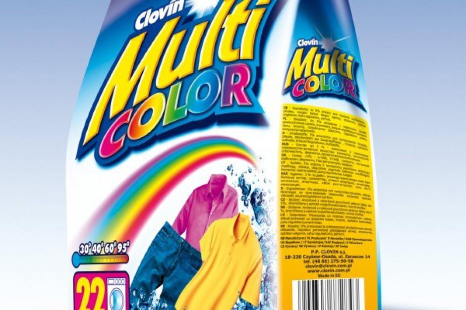 Nowe gramatury proszku do prania Multicolor