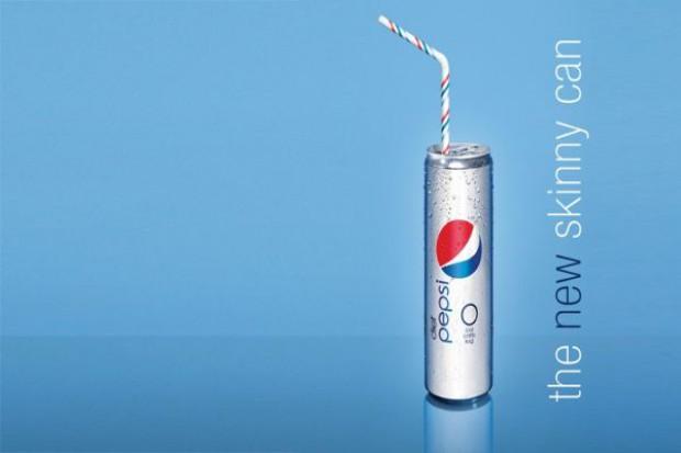 Pepsi Light w odchudzonym opakowaniu