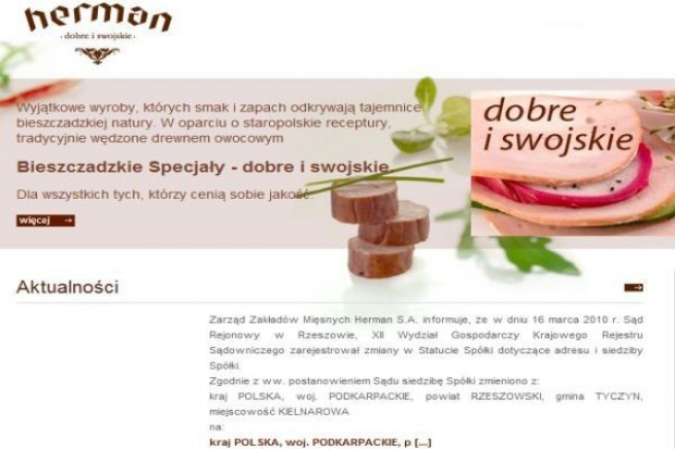 ZM Herman: w planach nowy koncept łączący sprzedaż wędlin z gastronomią