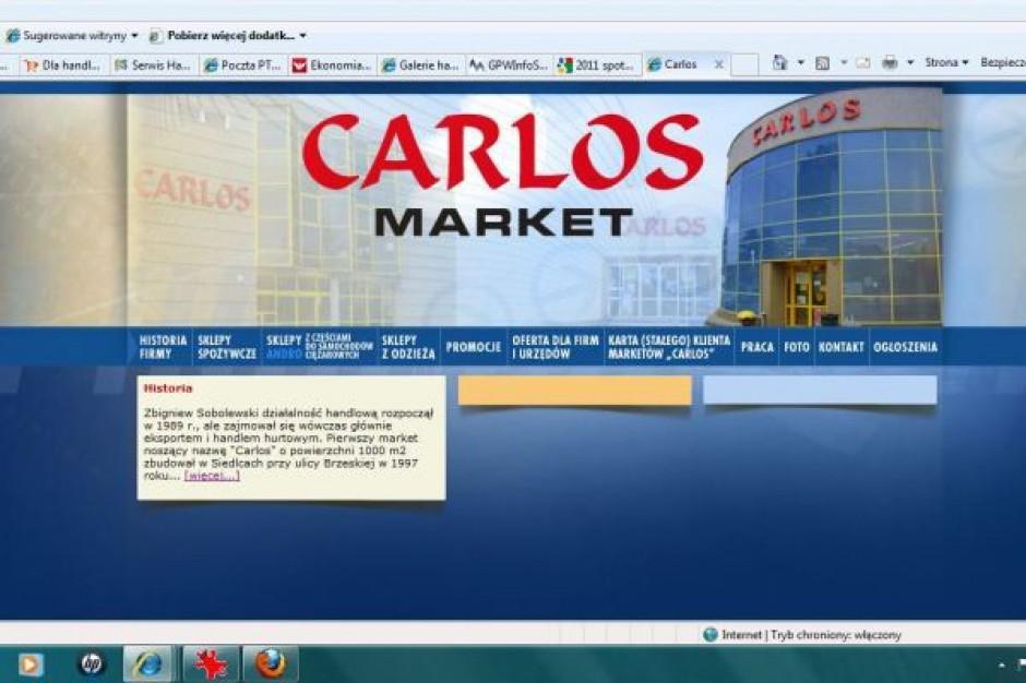Sieć Carlos chce podwoić liczbę placówek