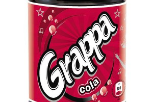 Grappa Cola w nowej butelce