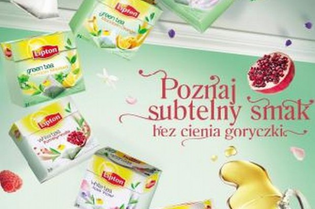 Kampania reklamowa wspiera nowe linie herbat Lipton