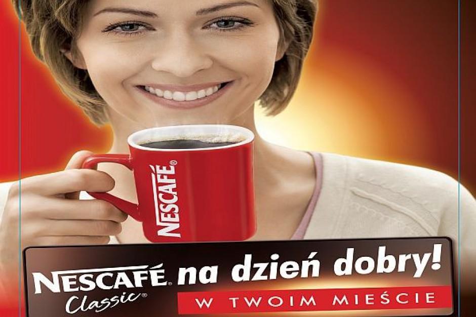 Nestle promuje kawę Nescafe Classic