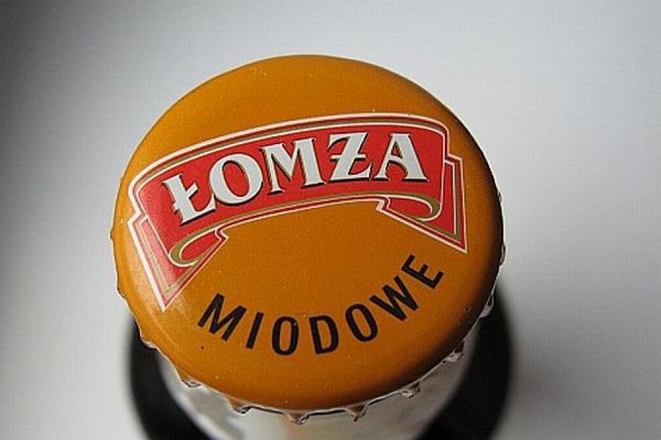 Miodowe piwo od Łomży