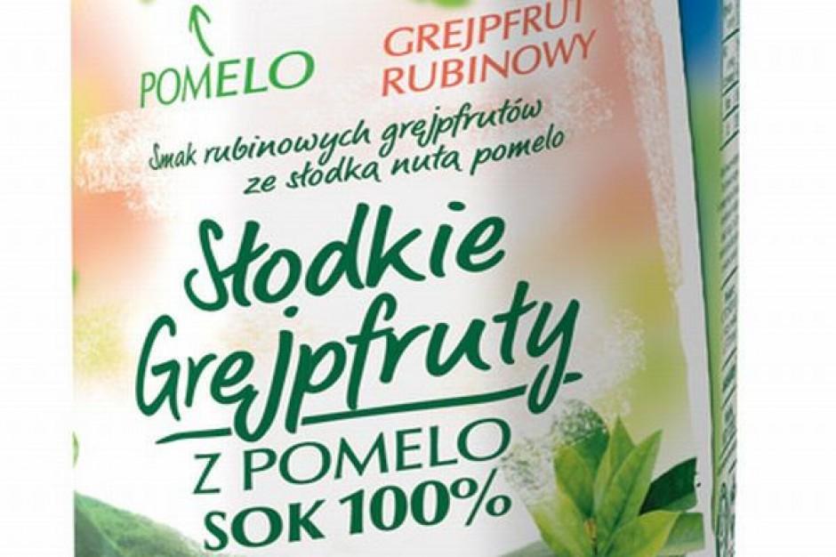 Nowy sok Hortex Słodkie Grejpfruty