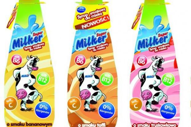SuperMilker - syrop, który zmienia smak mleka