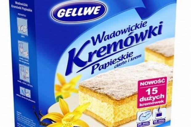 Gellwe wspiera sprzedaż Wadowickich Kremówek Papieskich