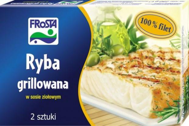 Bukiet warzyw z rybą grillowaną w sosie ziołowym od  Frosty