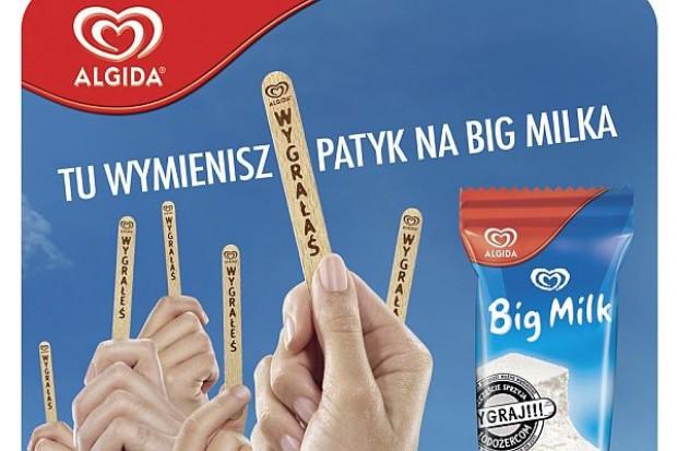 Promocja patyczkowa wesprze sprzedaż lodów Algida