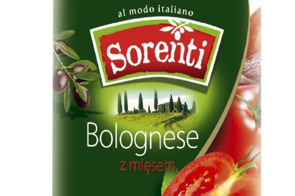 Makarony i sosy Sorenti w nowej odsłonie