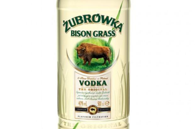 Nowa butelka wódki Żubrówka Bison Grass