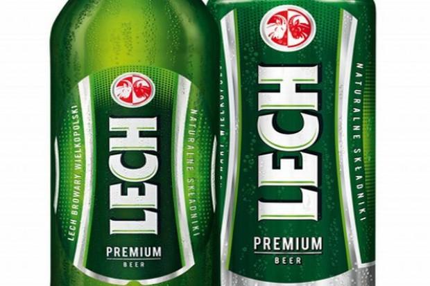 Nowe etykiety piw Lech Premium