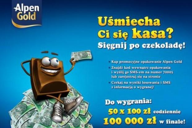 100 tys. zł główną nagrodą w loterii Alpen Gold