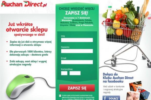 Auchan otworzy w Warszawie sklep internetowy