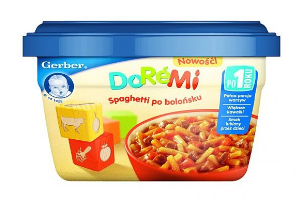 Nestle wprowadza posiłki DoReMi