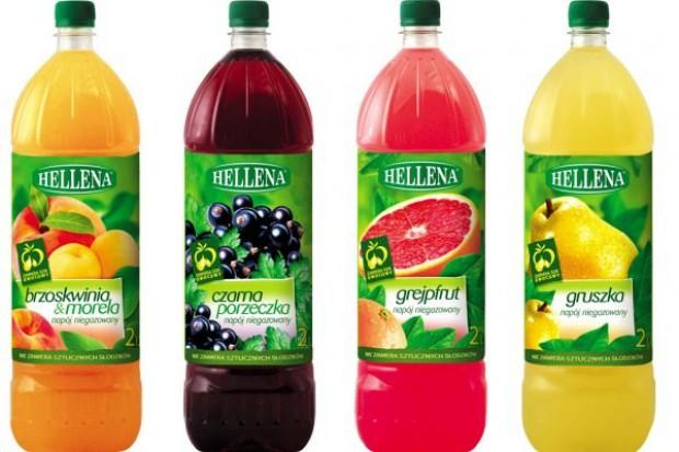 Nowe smaki niegazowanych napojów marki Hellena