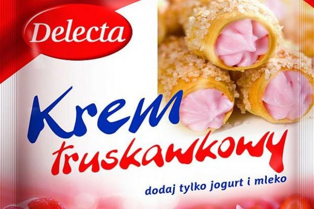 Kremy owocowe Delecta na bazie jogurtu i mleka