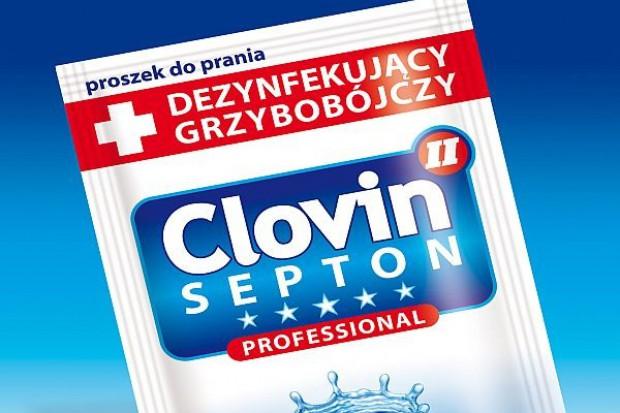 Saszetki Clovin II Septon do dezynfekcji