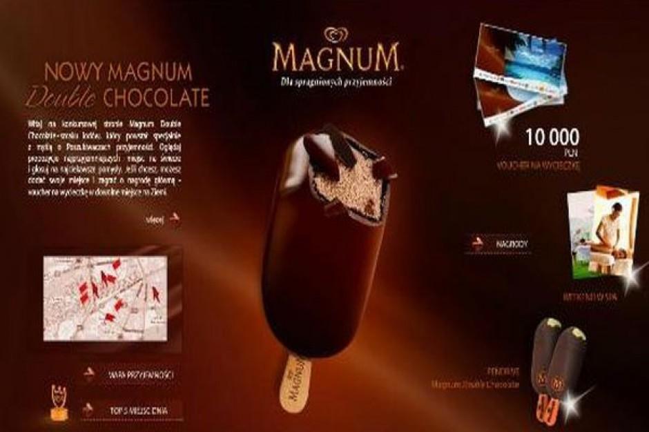 Internetowa kampania nowego smaku Magnum