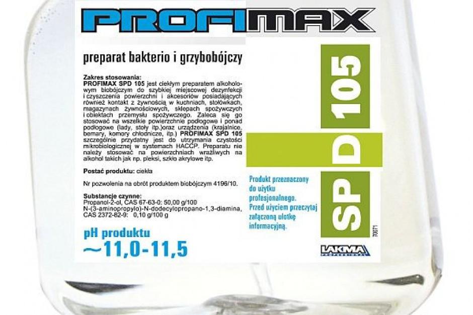 Środki Profimax do czyszczenia obiektów spożywczych
