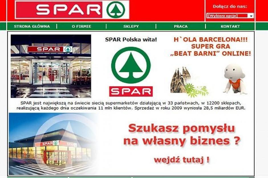 Sprzedaż sieci SPAR w Polsce spadła o 3,5-proc.