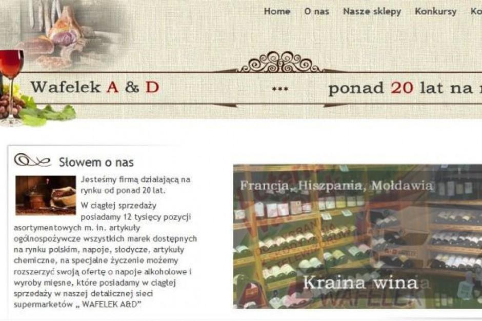 Sieć supermarketów Wafelek inwestuje w sklep internetowy