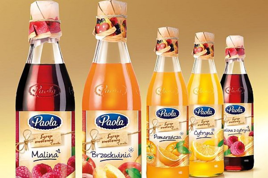 Nowe smaki syropów Paola