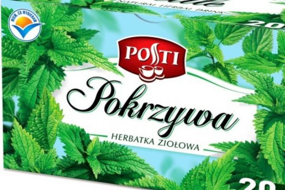 Herbatka ziołowa z pokrzywy w ofercie Posti