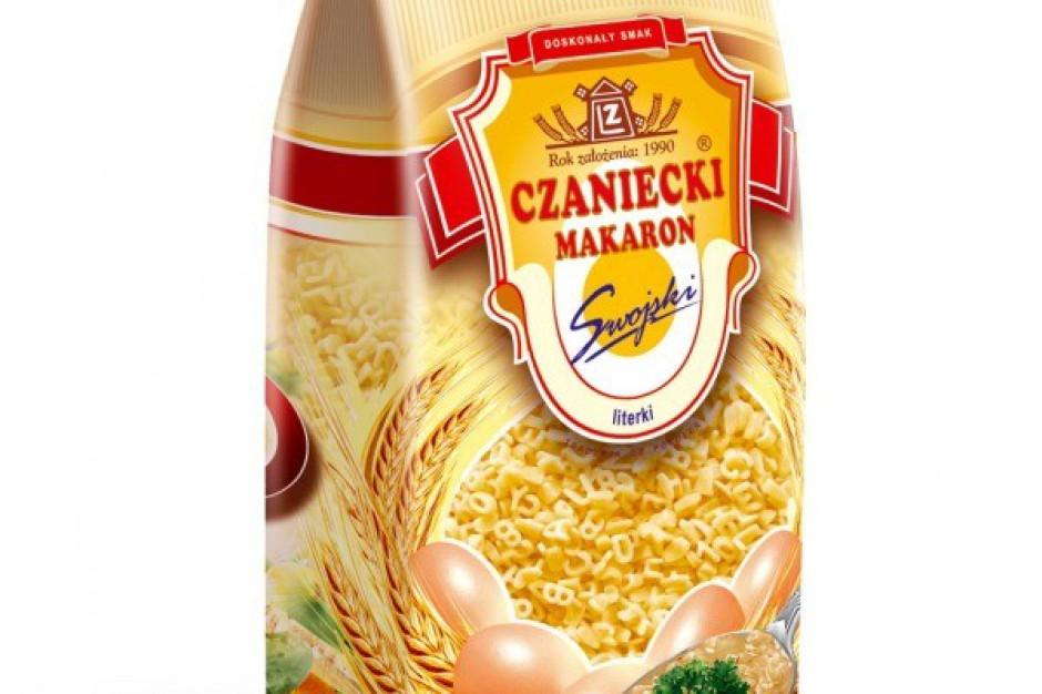 Makaron Literki z oferty Czanieckich Makaronów