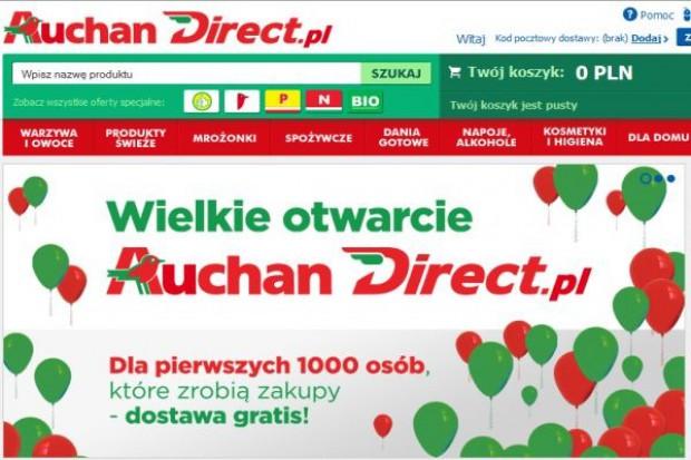 Ruszył sklep internetowy Auchandirect.pl