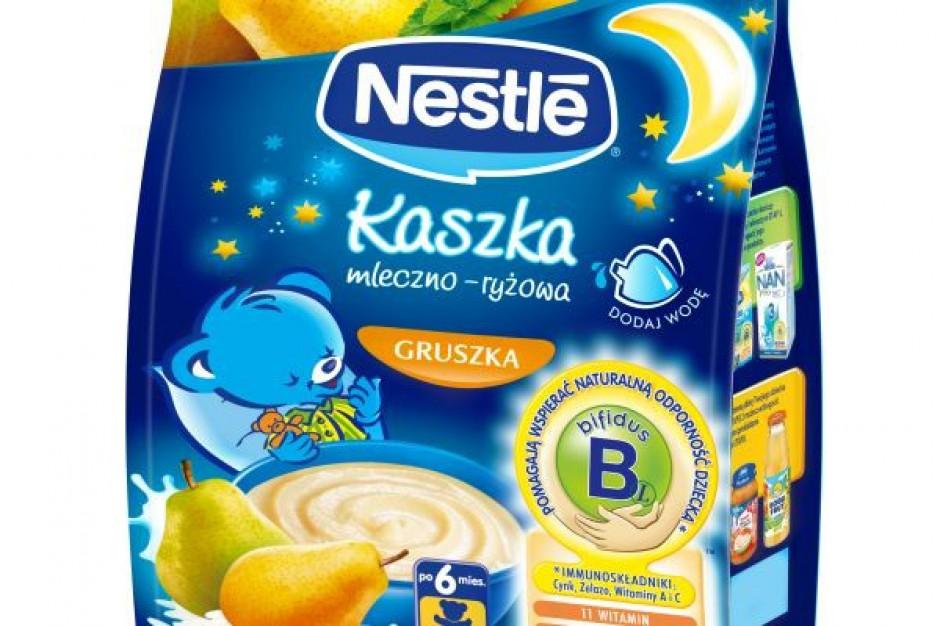 Nowa linia kaszek mleczno-ryżowych Nestle