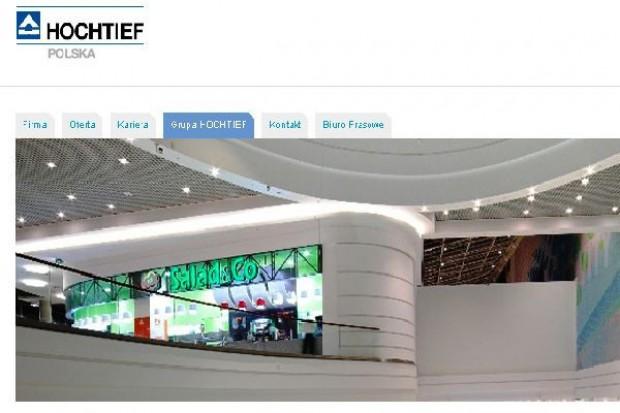 Hochtief Polska planuje więcej realizacji na rynku centrów handlowych