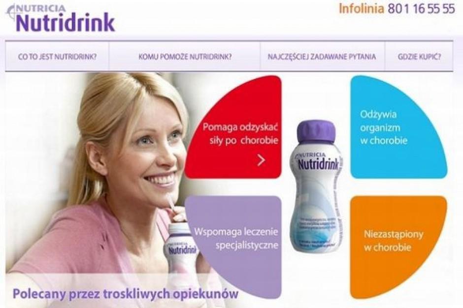 Internetowa kampania Nutridrinka