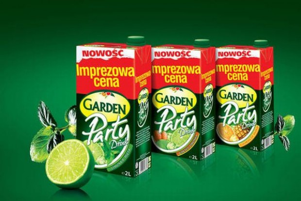 Internetowa kampania Garden Party Drink
