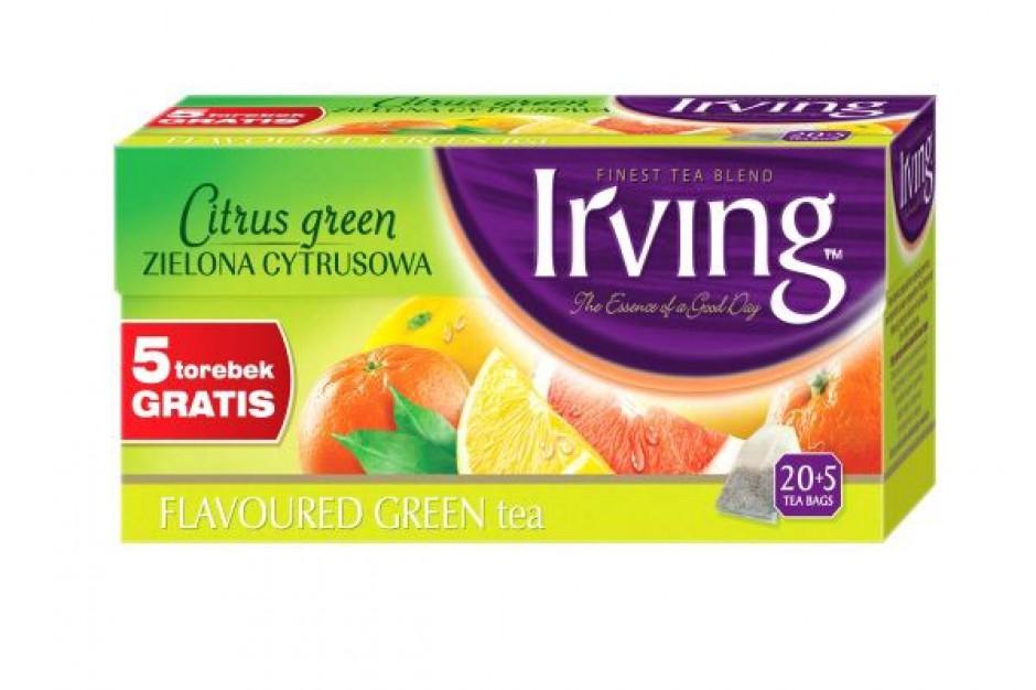 Nowa linia zielonych herbat Irving