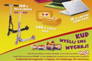 Cukierki Nimm2 promowane konkursem