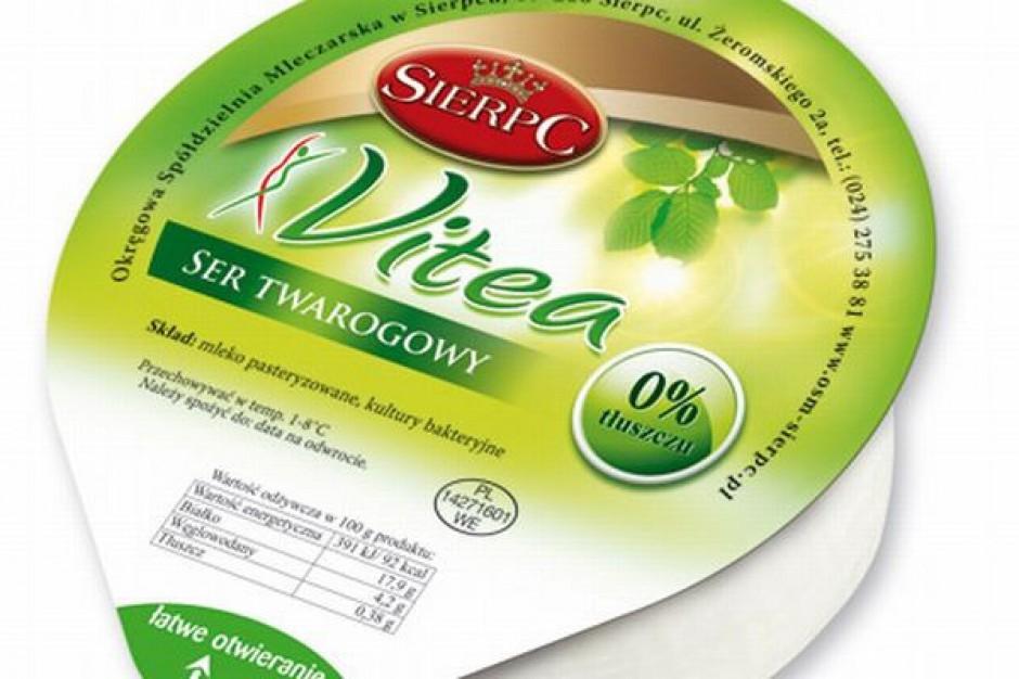 Ser twarogowy Vitea 0% od OSM Sierpc