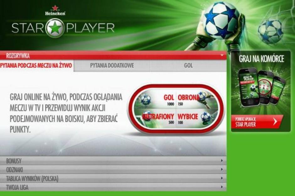 Heineken wprowadza grę dla kibiców piłki nożnej