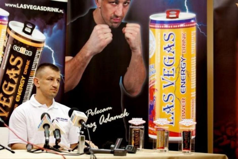 Tomasz Adamek wpłynął na zainteresowanie marką energetyków