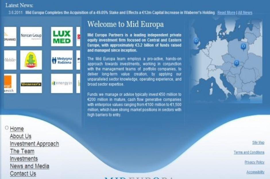 Sieci supermarketów na celowniku Mid Europa Partners