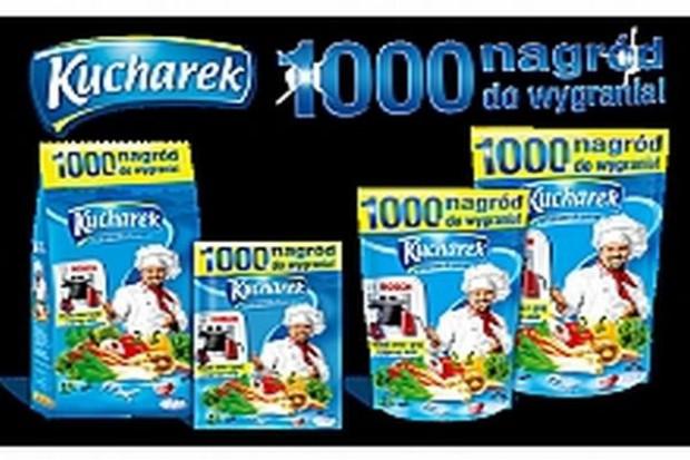 Promocja z nagrodami marki Kucharek