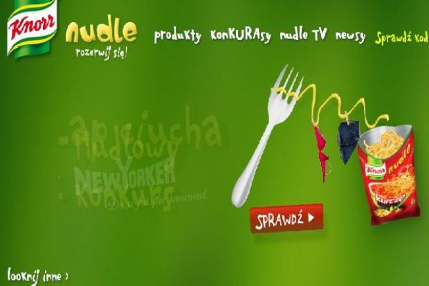 Knorr Nudle promowany w sklepach New Yorker