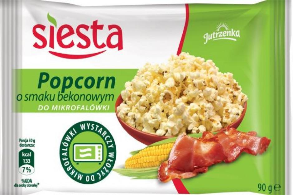 Popcorn o smaku bekonu